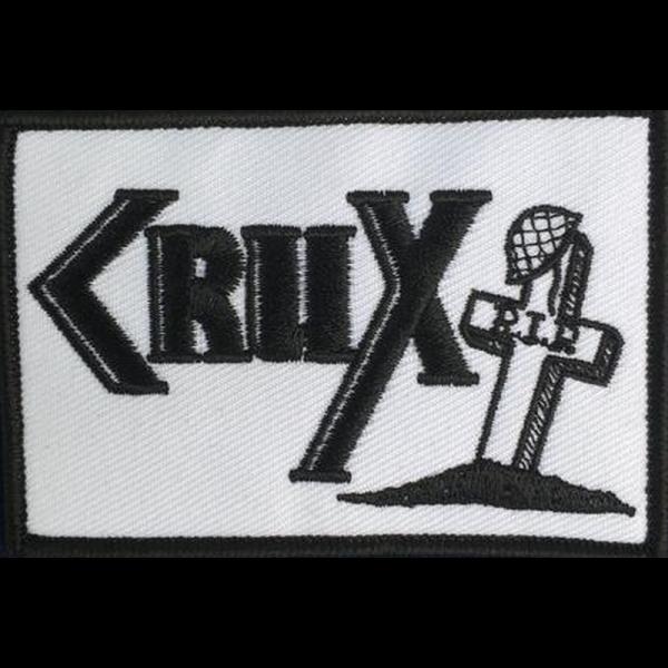 Crux - R.I.P., Aufnäher