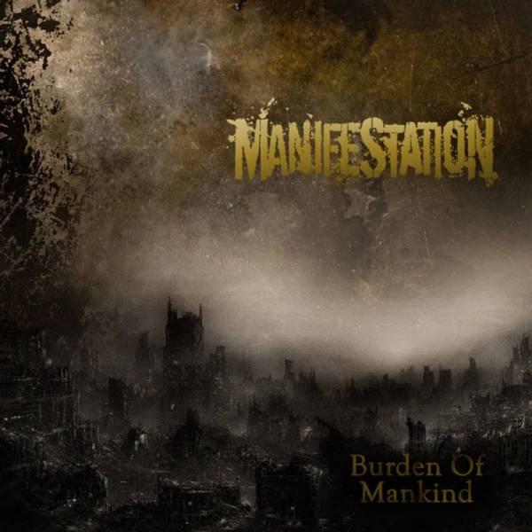 Manifestation - Burden of mankind, LP schwarz BESCHÄDIGT