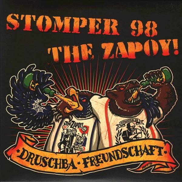 Stomper 98 / The Zapoy! - Druschba Freundschaft, 7'' EP verschiedene Farben