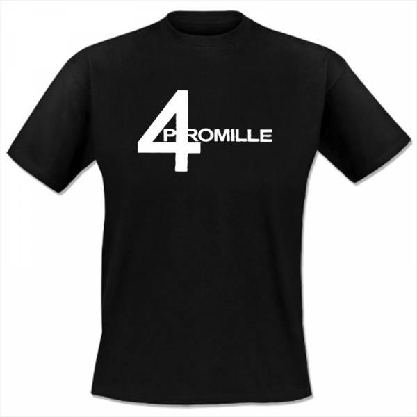 4 Promille - Ich werd' mich ändern, T-Shirt schwarz