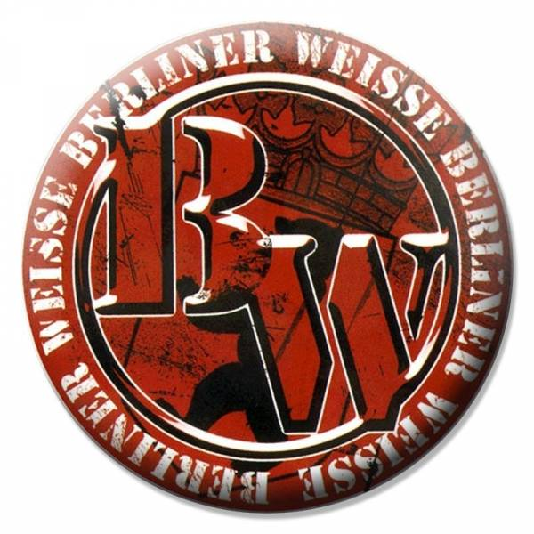 Berliner Weisse - Logo neu, Button B015