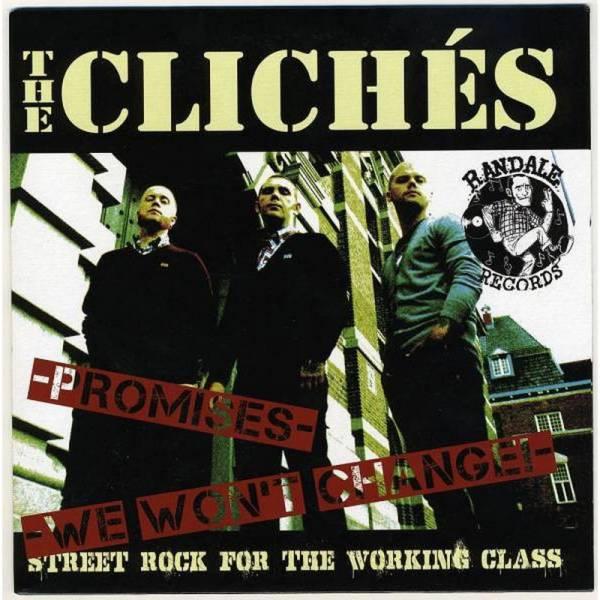 Clichés, The / Templars, The - Dto., 7'' 1. Pressung schwarz