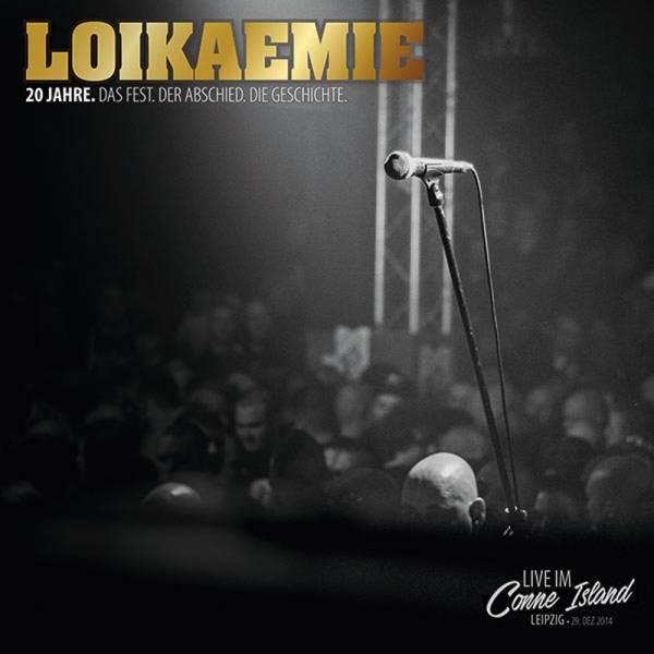 Loikaemie – 20 Jahre / Live im Conne Island, DoCD + DVD