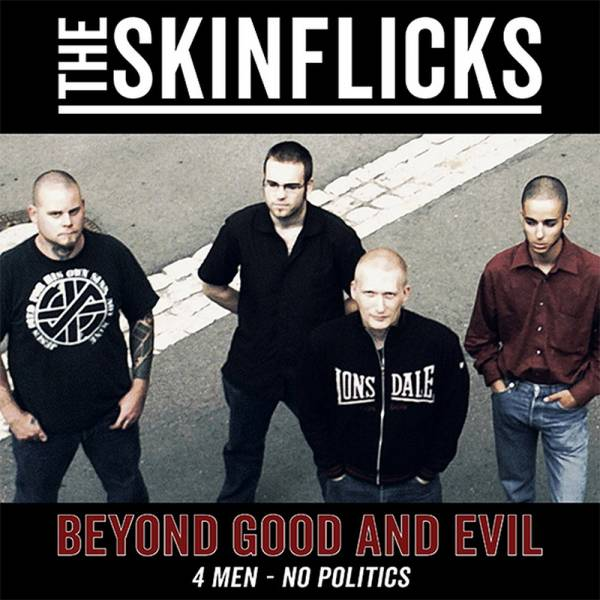 Skinflicks - Beyond good and evil, LP weiss + CD, lim. 500