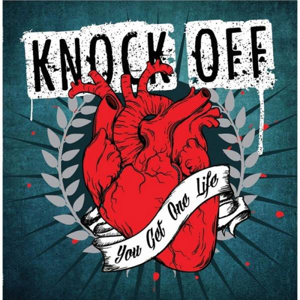 Knock Off - You get one life, CD Digipack