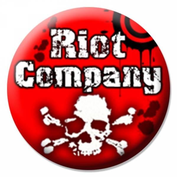 Riot Company - Skull, Button B102