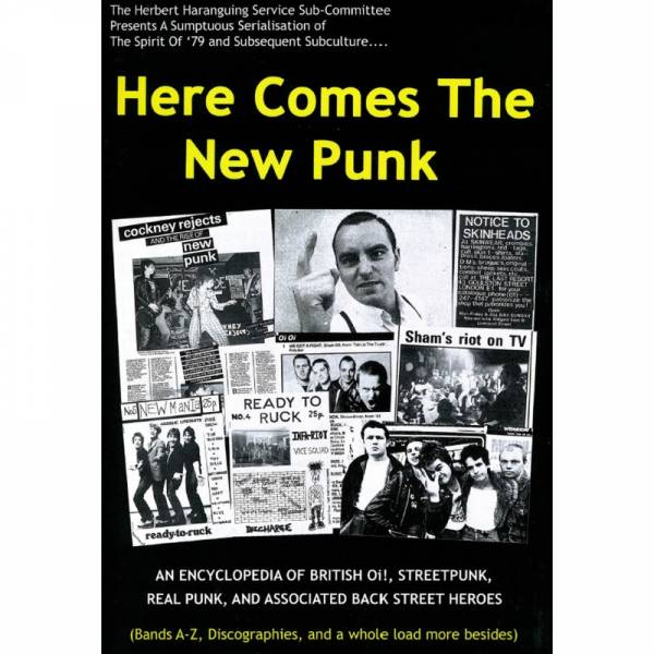 Oi! the Book - Here comes the new Punk, Buch 2. Auflage