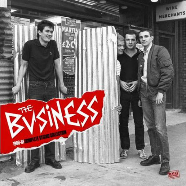 Business, The - 1980-81 Complete Studio Collection, LP schwarz lim. 500