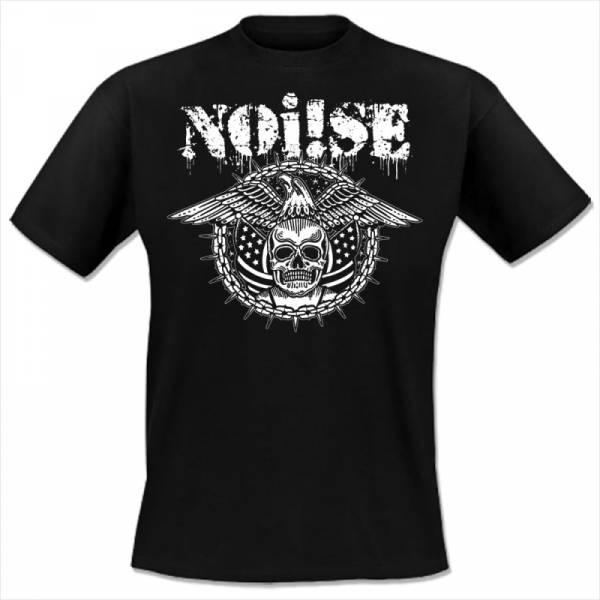 Noi!se - Skull + Eagle, T-Shirt schwarz (Noise)