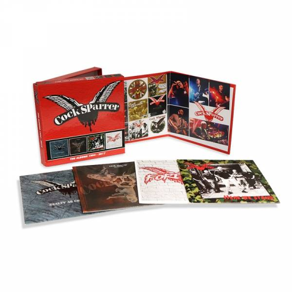 Cock Sparrer - The Albums 1994 - 2017, 4 x CD BOX