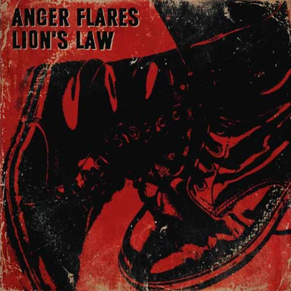 """Lion's Law / Anger Flares - Split, 7"""" lim. verschiedene Farben"""