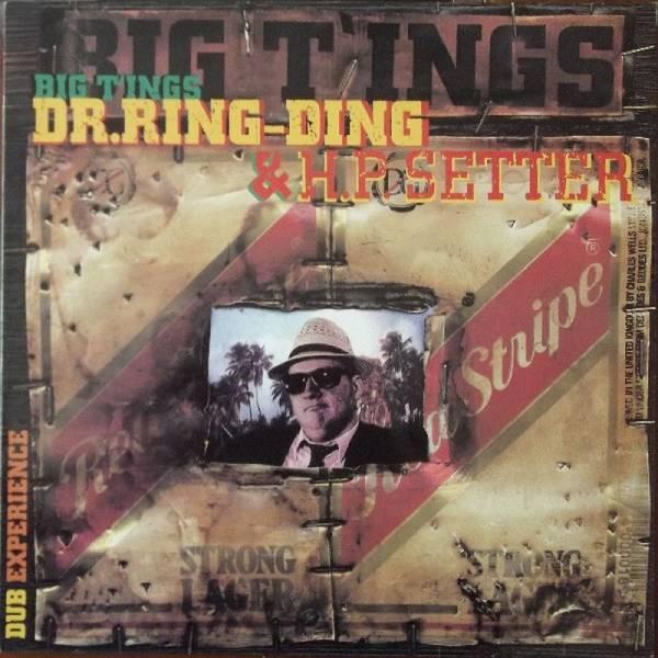 Dr. Ring-Ding & H.P. Setter - Big T'ings, LP schwarz