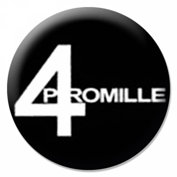 4 Promille - Logo, Button B003