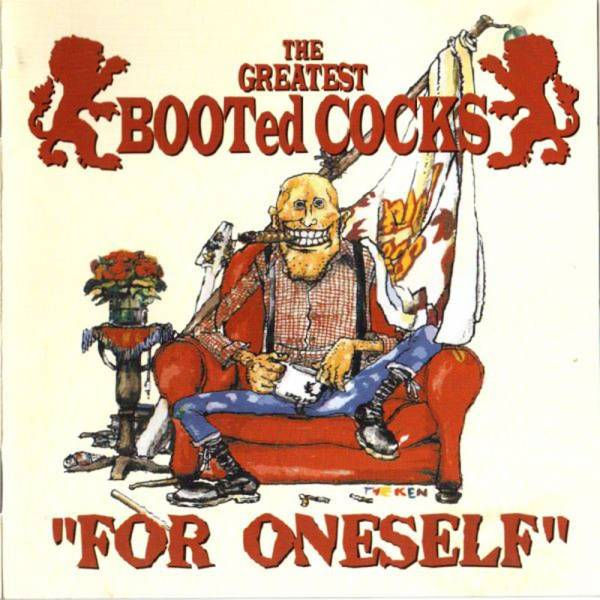 Booted Cocks - For Oneself, CD