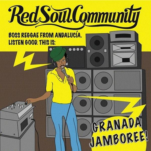Red Soul Community - Granada Jamboree!, 7'' gelb