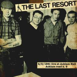 Last Resort, The - Live at Acklam Hall, LP lim. 300 pink