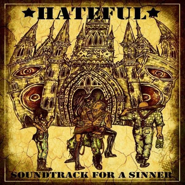 Hateful - Soundtrack for a sinner, LP schwarz