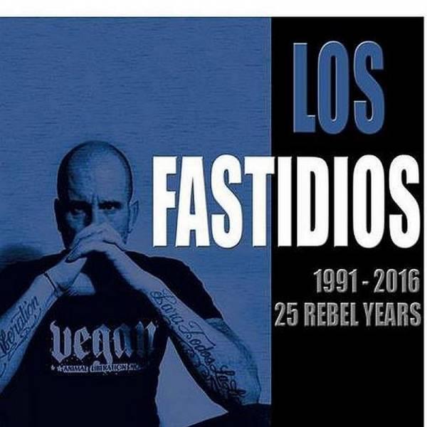 Los Fastidios - 1991 - 2016 (25 Rebel Years), CD