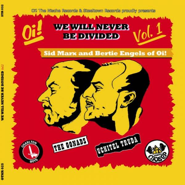 Gonads, the / Uchitel Truda – We Will Never Be Divided Vol. , 7'' EP
