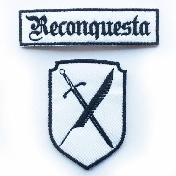 Reconquesta - Logo, Aufnäher Set