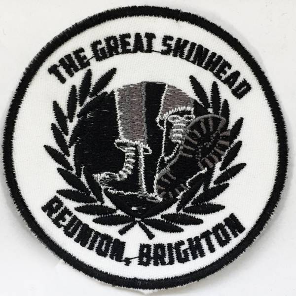 The Great Skinhead Reunion - Logo, Aufnäher rund