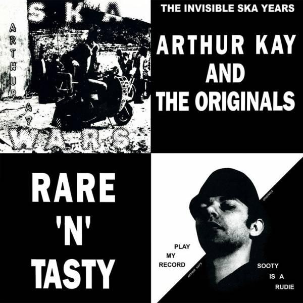 Arthur Kay and the Originals - Rare 'n' tasty, LP lim. 500 verschiedene Farben
