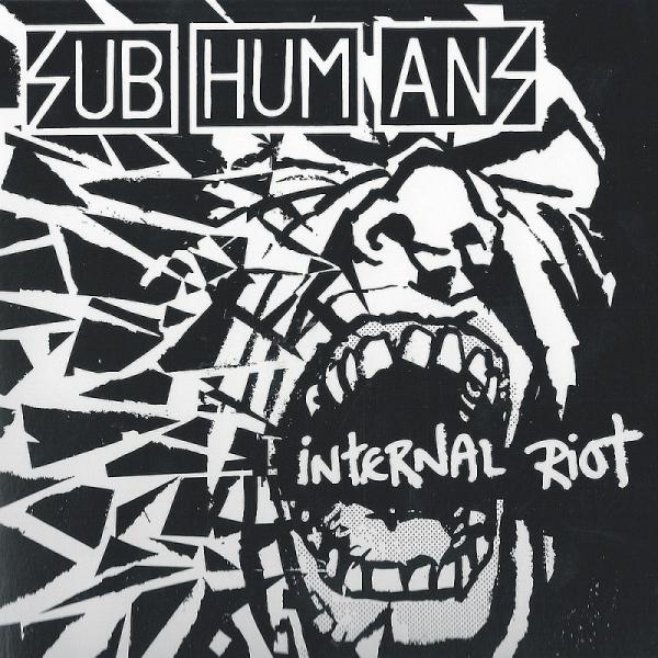 Subhumans - Internal Riot, LP lim. 600 schwarz