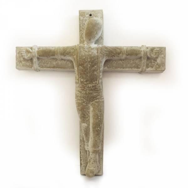 Crucified Skinhead - Figur gross, sehr massiv Skulptur