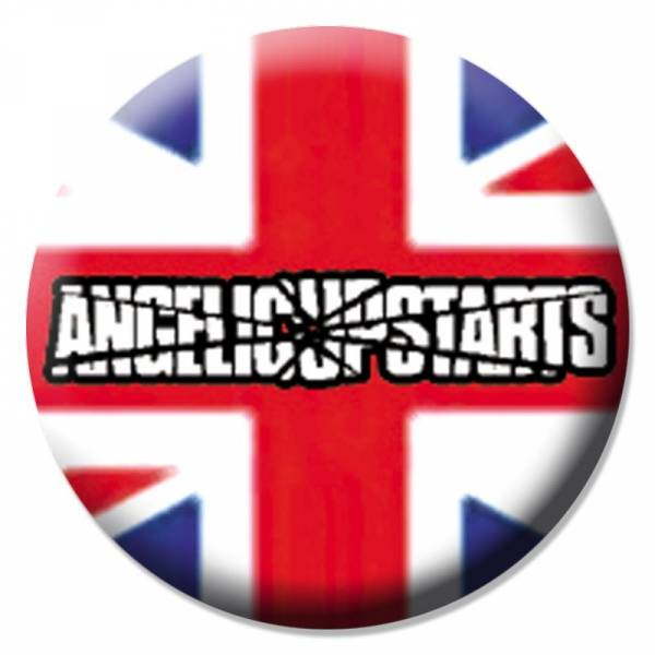 Angelic Upstarts - Union Jack, Button B009