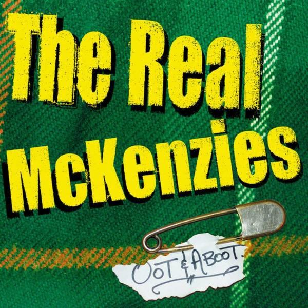 Real McKenzies, The - Oot & Aboot, LP schwarz