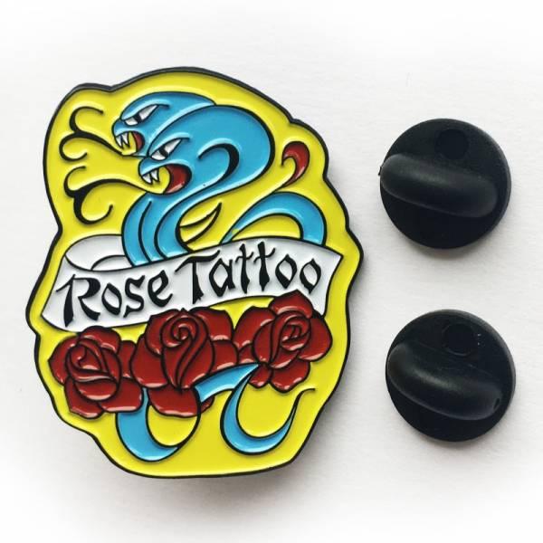 Rose Tattoo - Logo, Pin