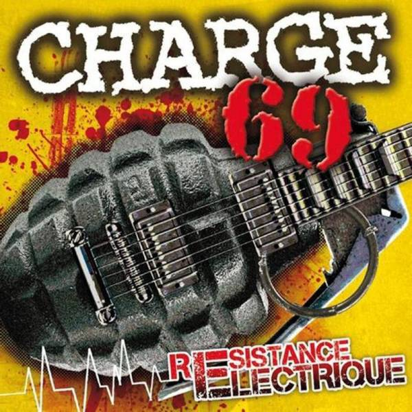 Charge 69 - Resistance Electrique, LP + CD, lim. 500 schwarz