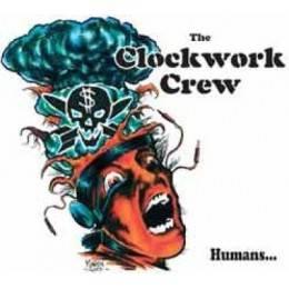 Clockwork Crew - Humans, CD-Digipack