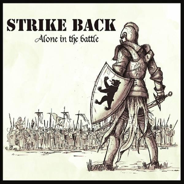Strike Back - Alone in the battle, Mini LP verschiedene Farben