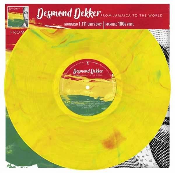 Desmond Dekker - From Jamaica to the world, LP lim. 1111 gelb 180g