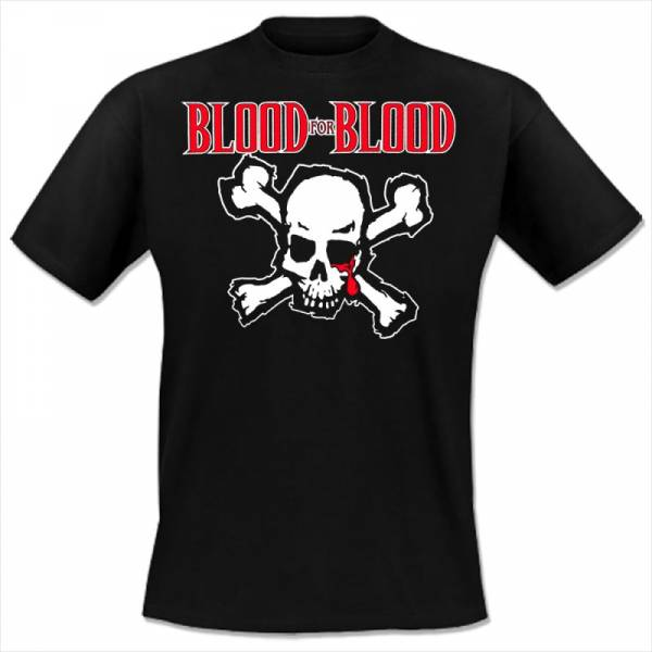 Blood for Blood - Skull, T-Shirt