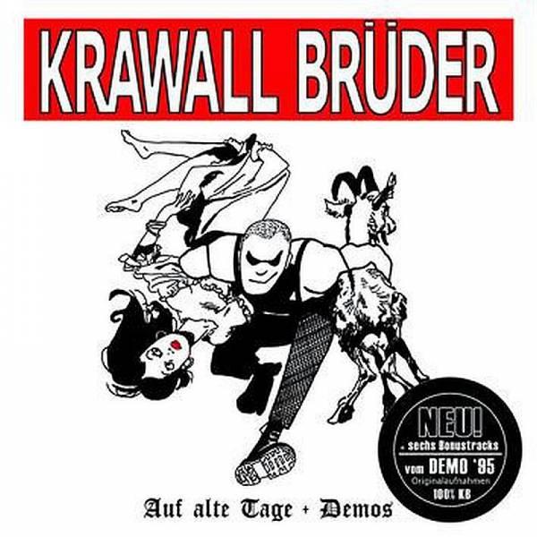 KrawallBrüder - Auf alte Tage, CD