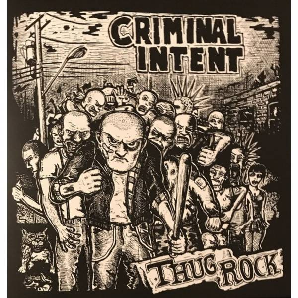 Criminal Intent - Thug Rock, CD lim. 300