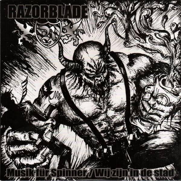 Razorblade - Musik für Spinner, 7'' lim. 250 orange/schwarz/rot tricolor