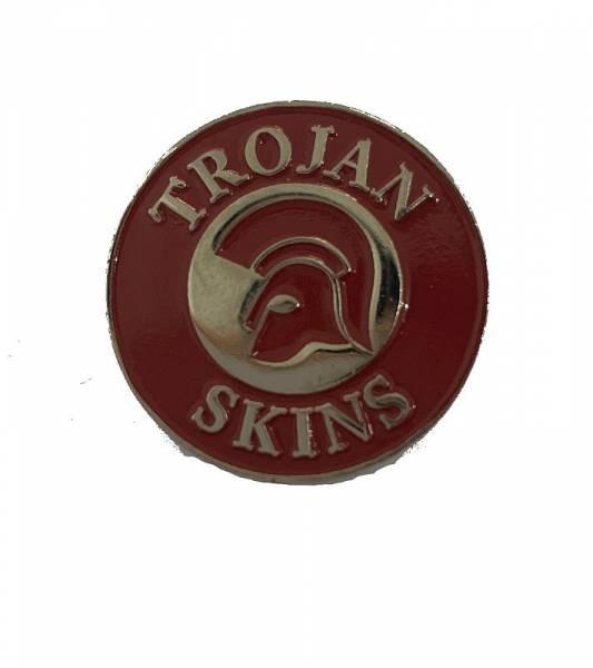 Trojan Skins rot, Pin