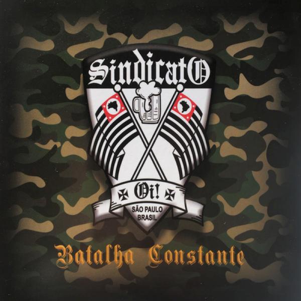 Sindicato Oi! – Batalha Constante, CD DigiPack