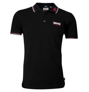 Lonsdale - Lion, Polo-Shirt Slim Fit schwarz