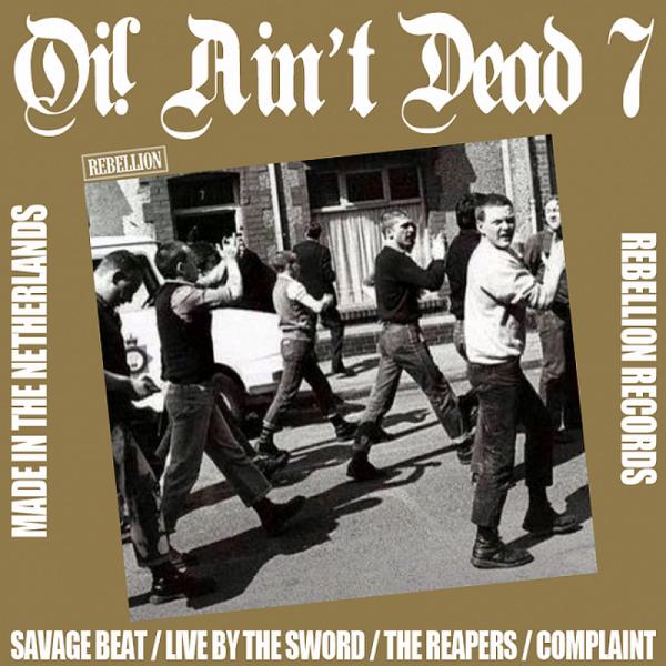 V/A Oi! Ain't Dead 7, LP lim. verschiedene Farben