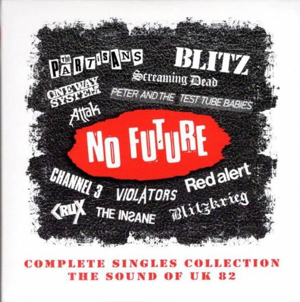 VA No Future Complete Singles Collection (The Sound of UK 82), 4 x CD BOX