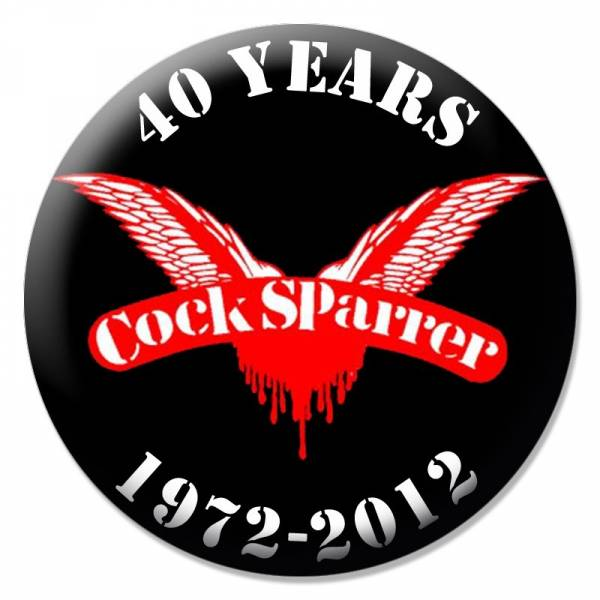 Cock Sparrer - Anniversary, Button B028