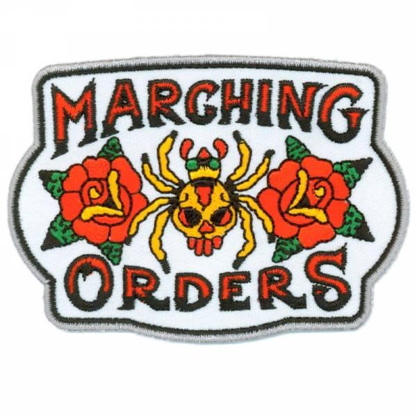 Marching Orders - Spider, Aufnäher