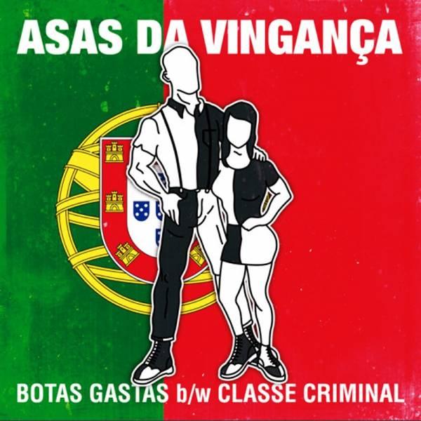 Asas Da Vinganca - Botas Gastas, 7'' lim. 200 schwarz