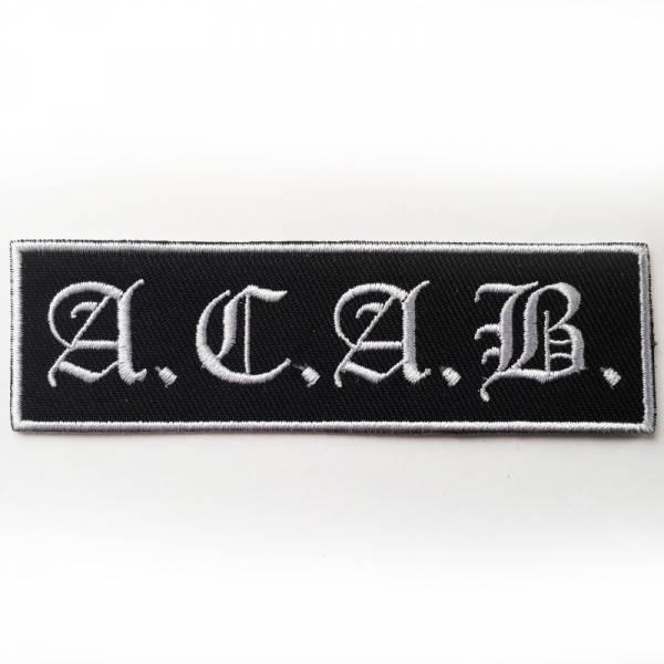 A.C.A.B., Aufnäher