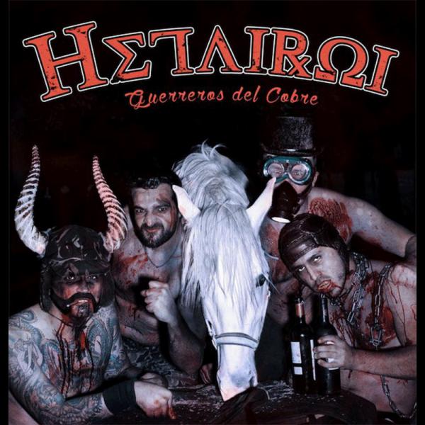 Hetairoi – Guerreros Del Cobre, LP lim. 500 braun BESCHÄDIGT