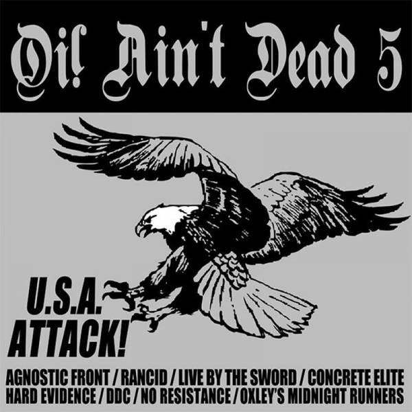 V/A Oi! Ain't dead Vol. 5 (U.S.A. Attack!), CD